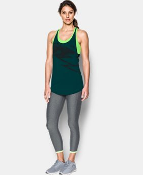 Women's HeatGear® Armour 2-in-1 Printed Tank  1 Color $34.99