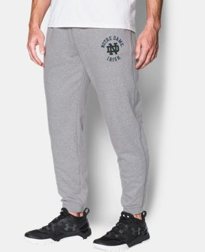 Mens Notre Dame UA Tri-Blend Joggers LIMITED TIME: FREE U.S. SHIPPING 1 Color $59.99