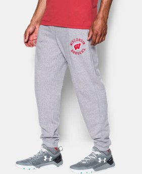 Men's Wisconsin UA Tri-Blend Joggers