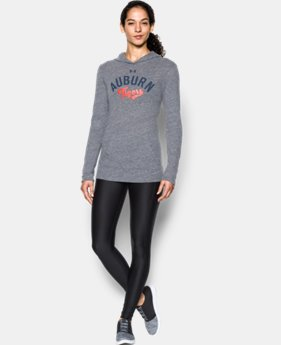 New Arrival Women's Auburn UA Charged Cotton® Tri-Blend Hoodie  1 Color $44.99