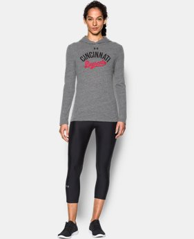 New Arrival Women's Cincinnati UA Charged Cotton® Tri-Blend Hoodie  1 Color $44.99