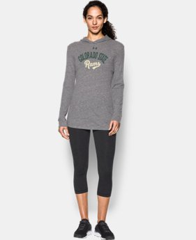 Women's Colorado State UA Charged Cotton® Tri-Blend Hoodie LIMITED TIME: FREE U.S. SHIPPING 1 Color $44.99