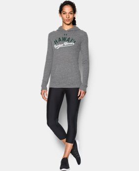 New Arrival Women's Hawaii UA Charged Cotton® Tri-Blend Hoodie  1 Color $44.99