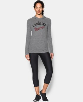 New Arrival Women's South Carolina UA Charged Cotton® Tri-Blend Hoodie  1 Color $44.99