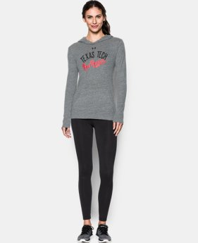New Arrival Women's Texas Tech UA Charged Cotton® Tri-Blend Hoodie  1 Color $44.99