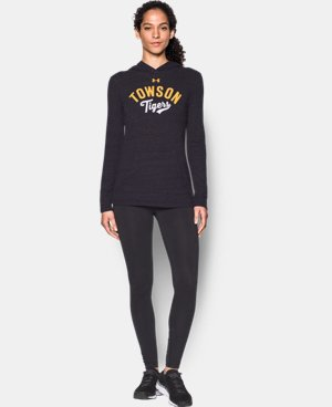 Women's Towson UA Charged Cotton® Tri-Blend Hoodie  1 Color $44.99