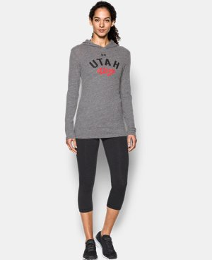 Women's Utah UA Charged Cotton® Tri-Blend Hoodie  1 Color $44.99