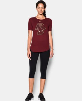 New Arrival Women's Boston College Charged Cotton® Short Sleeve T-Shirt  1 Color $30