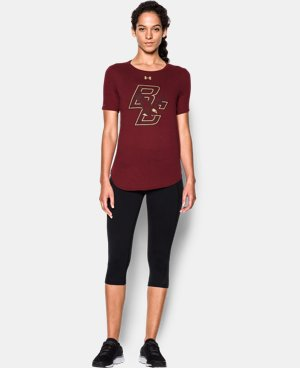 Women's Boston College Charged Cotton® Short Sleeve T-Shirt  1 Color $30