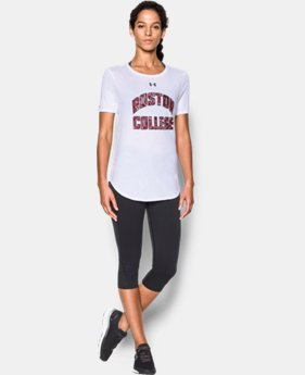 New Arrival Women's Boston College Charged Cotton® Short Sleeve T-Shirtd  1 Color $30