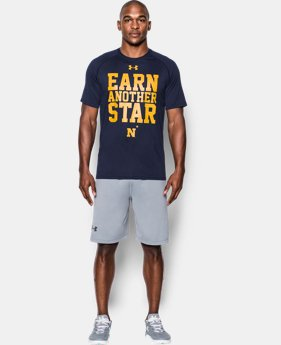 Men's Navy UA Tech™ Earn Another Star T-Shirt  1 Color $30