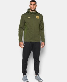 Men's Notre Dame Shamrock Series UA Swacket  1  Color $140