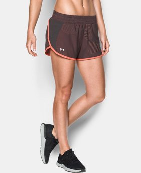 Women's UA Launch Printed Tulip Shorts  1 Color $21.99
