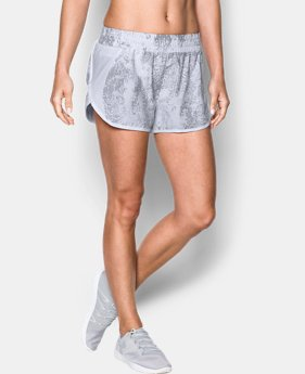 Women's UA Launch Printed Tulip Shorts  1 Color $39.99