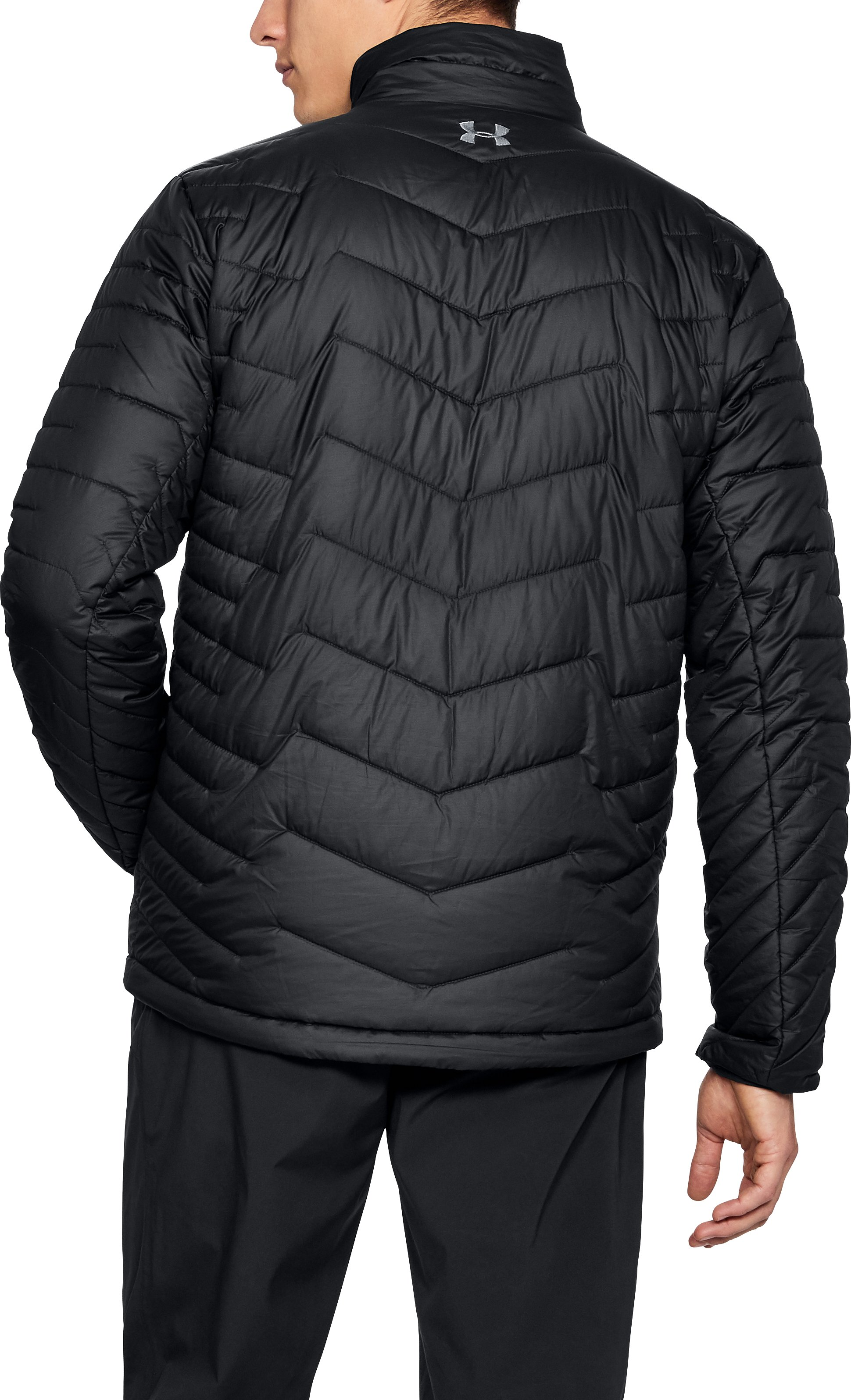 Men's ColdGear® Reactor Jacket, Black ,