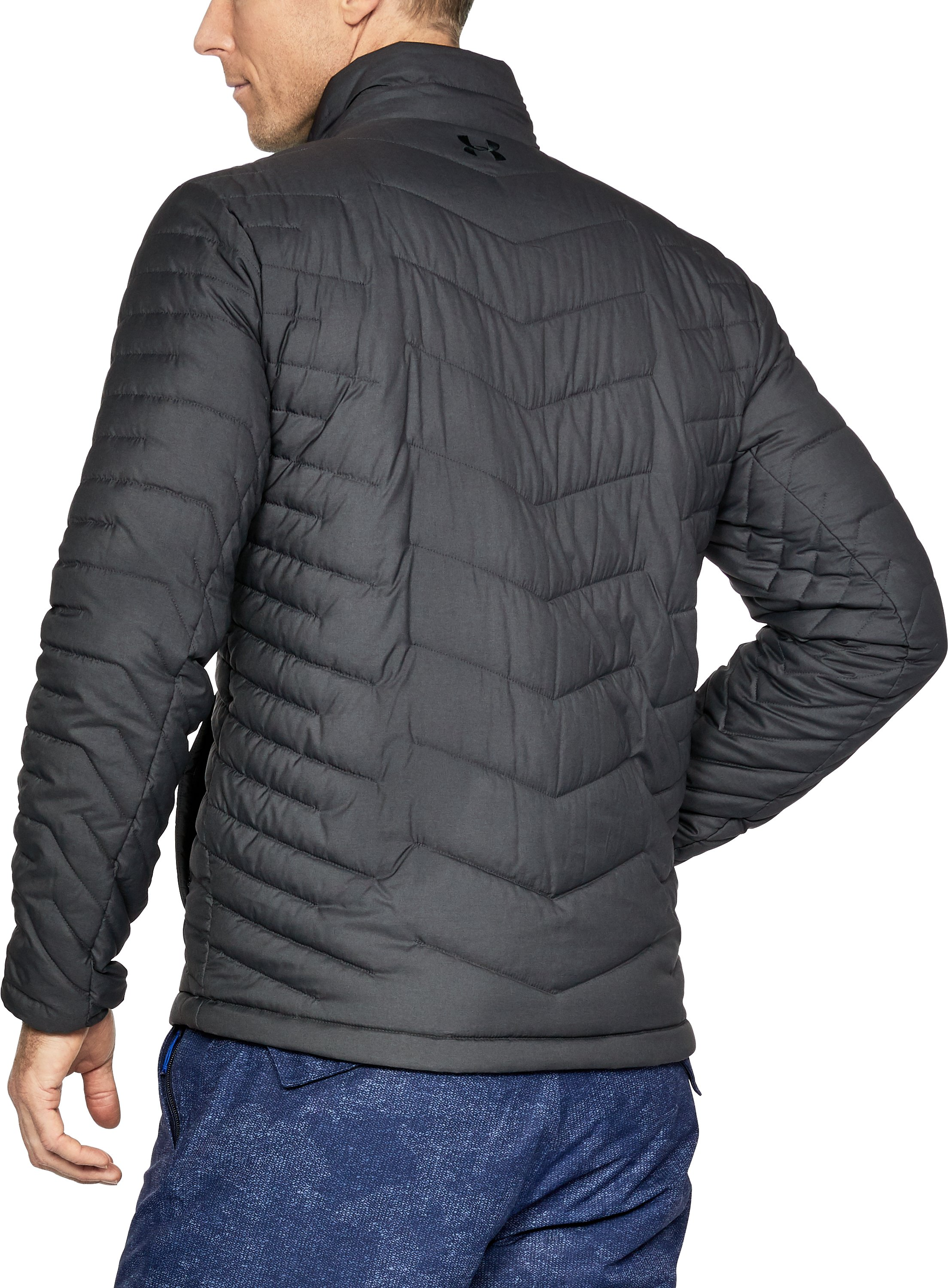 Men's ColdGear® Reactor Jacket, Carbon Heather, undefined