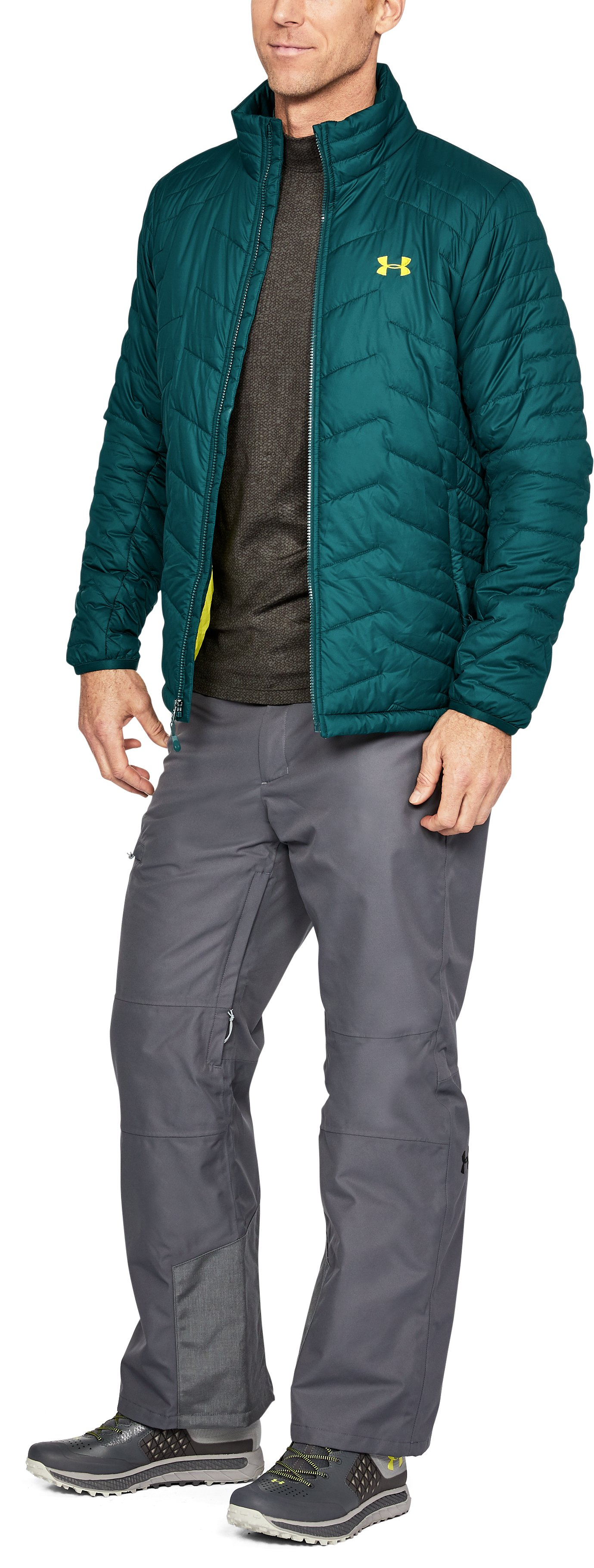 Men's ColdGear® Reactor Jacket, ARDEN GREEN,