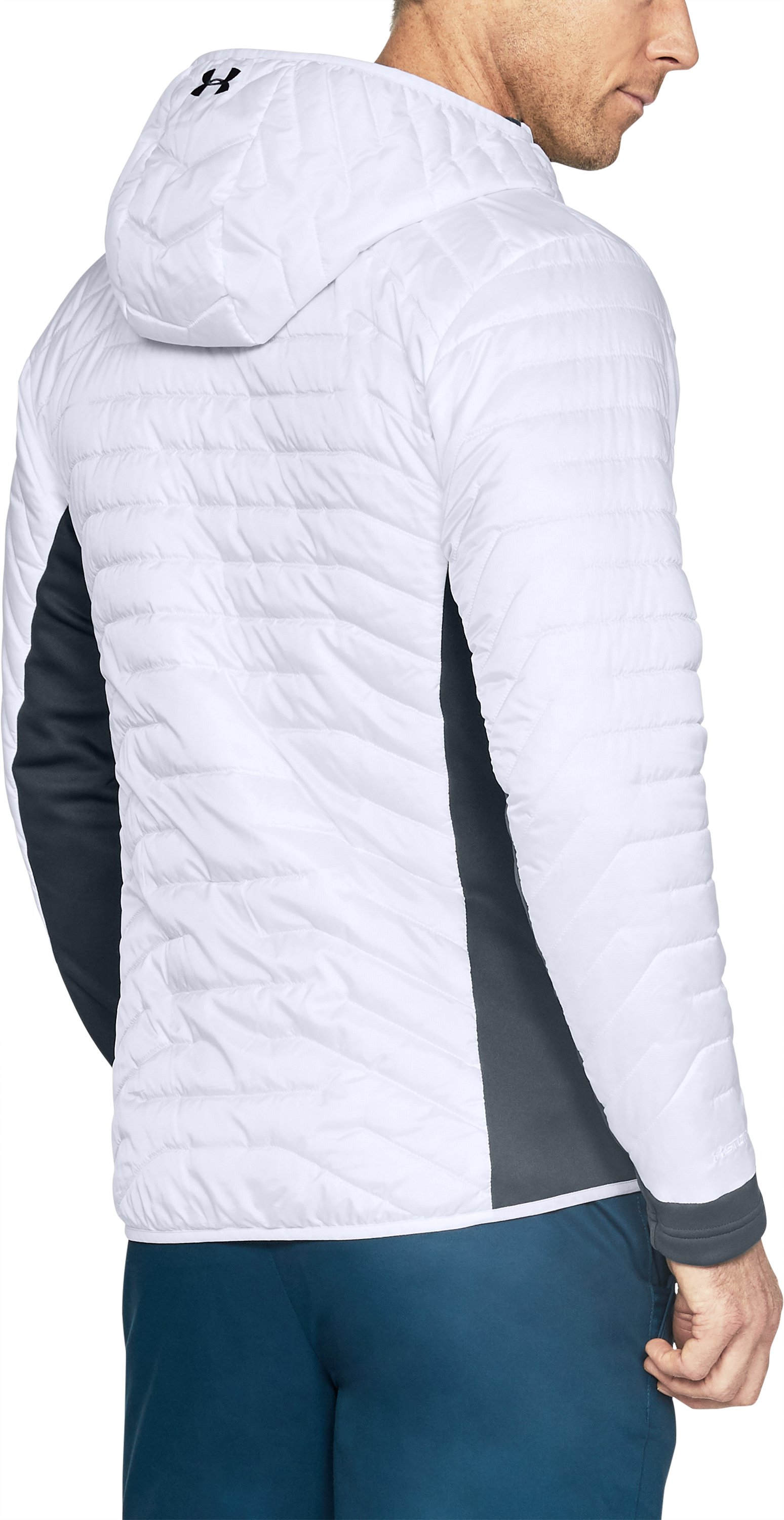 Men's ColdGear® Reactor Hybrid Jacket, White,