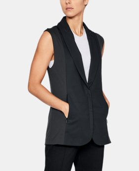 Utility Tailored Vest  1 Color $180