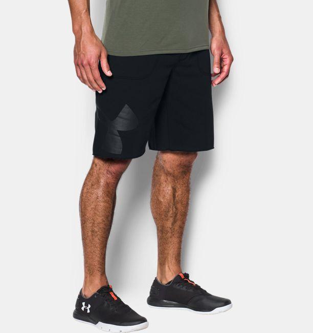 6943943aebb Men s UA Rival Fleece Exploded Logo Shorts