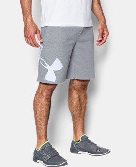 Men's UA Rival Fleece Exploded Logo Shorts  2 Colors $39.99