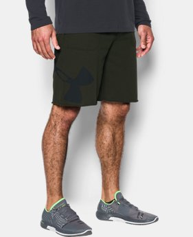 Men's UA Rival Fleece Exploded Logo Shorts LIMITED TIME: FREE U.S. SHIPPING 1 Color $39.99