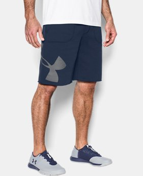 Men's UA Rival Fleece Exploded Logo Shorts  4 Colors $39.99