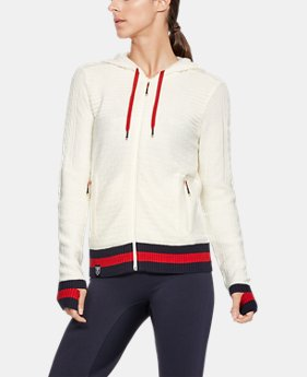 New Arrival Women's UA Stars & Stripes Full Zip Sweater  1 Color $150
