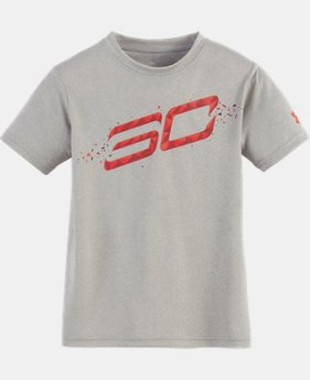 Boys' Pre-School SC30 Player Short Sleeve Shirt  1 Color $18.99