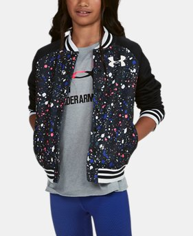 Girls' Armour Fleece® Bomber  1 Color $59.99