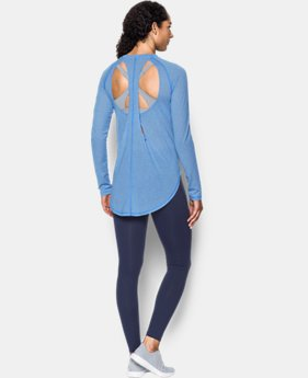 Women's UA Breathe Stripe Open Back Top   $59.99