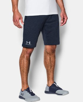 Men's UA Sportstyle Fleece Tapered Shorts  1 Color $34.99