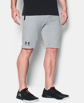 Men's UA Sportstyle Fleece Tapered Shorts  1 Color $34.99 to $37.99