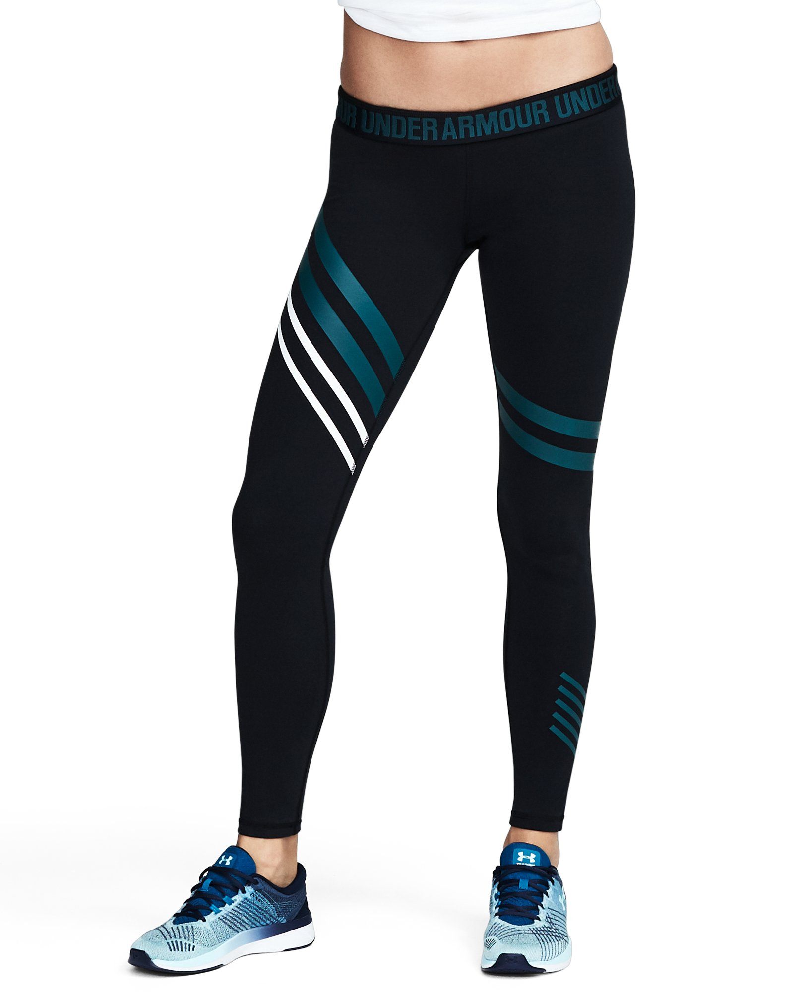 Women's UA Favorite Engineered Leggings, Black