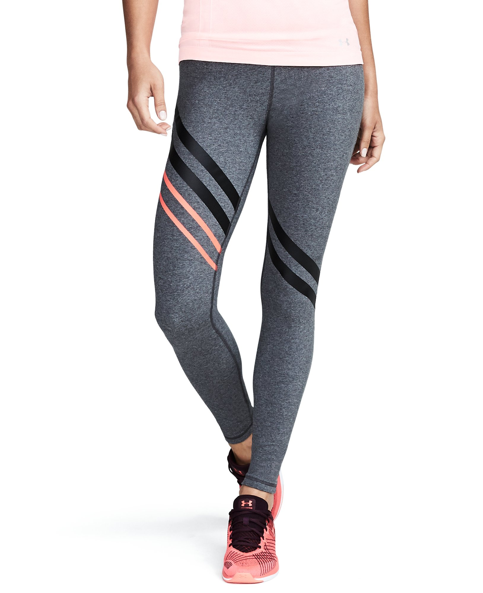 Women's UA Favorite Engineered Leggings, Carbon Heather