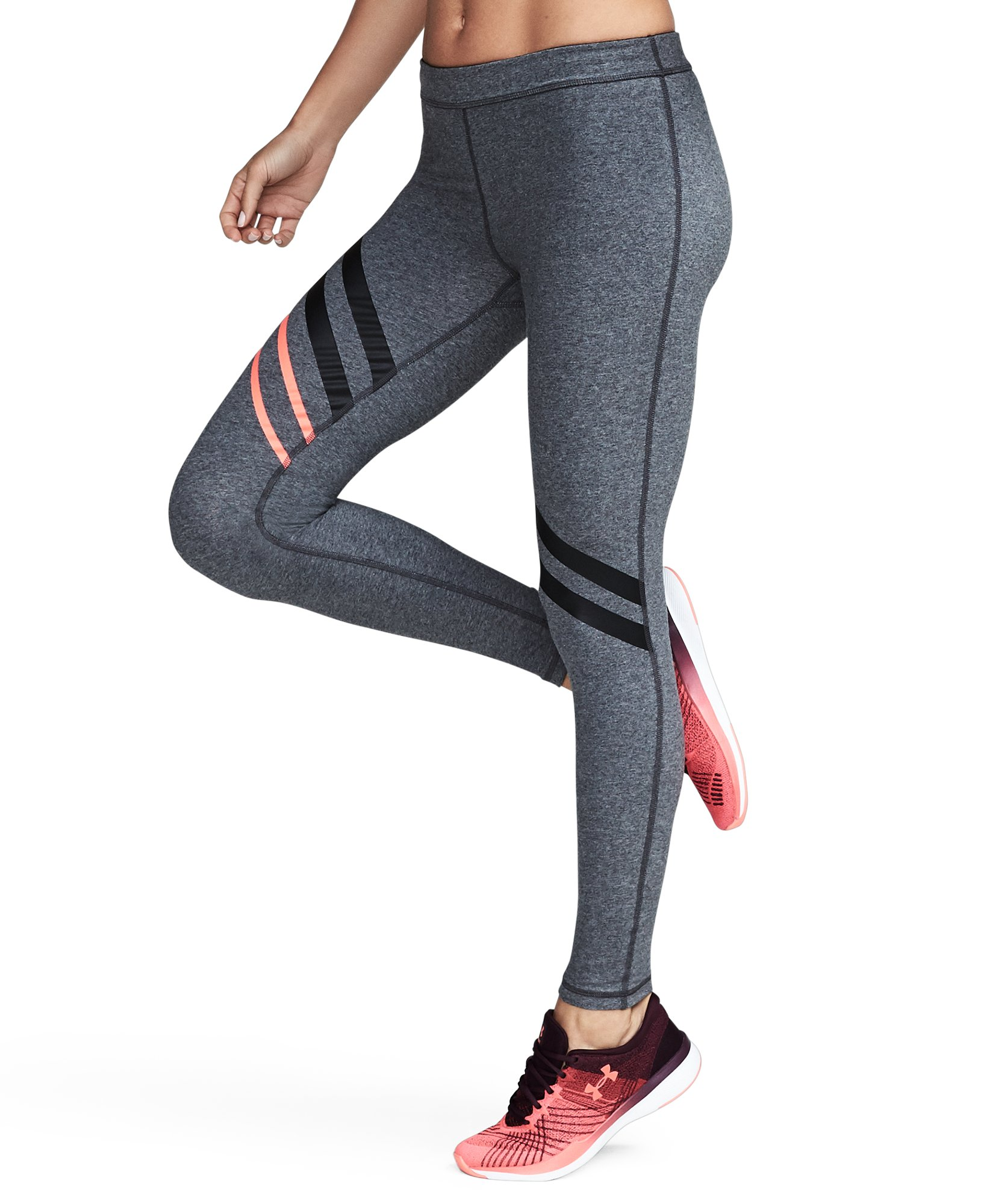 Women's UA Favorite Engineered Leggings, Carbon Heather, undefined