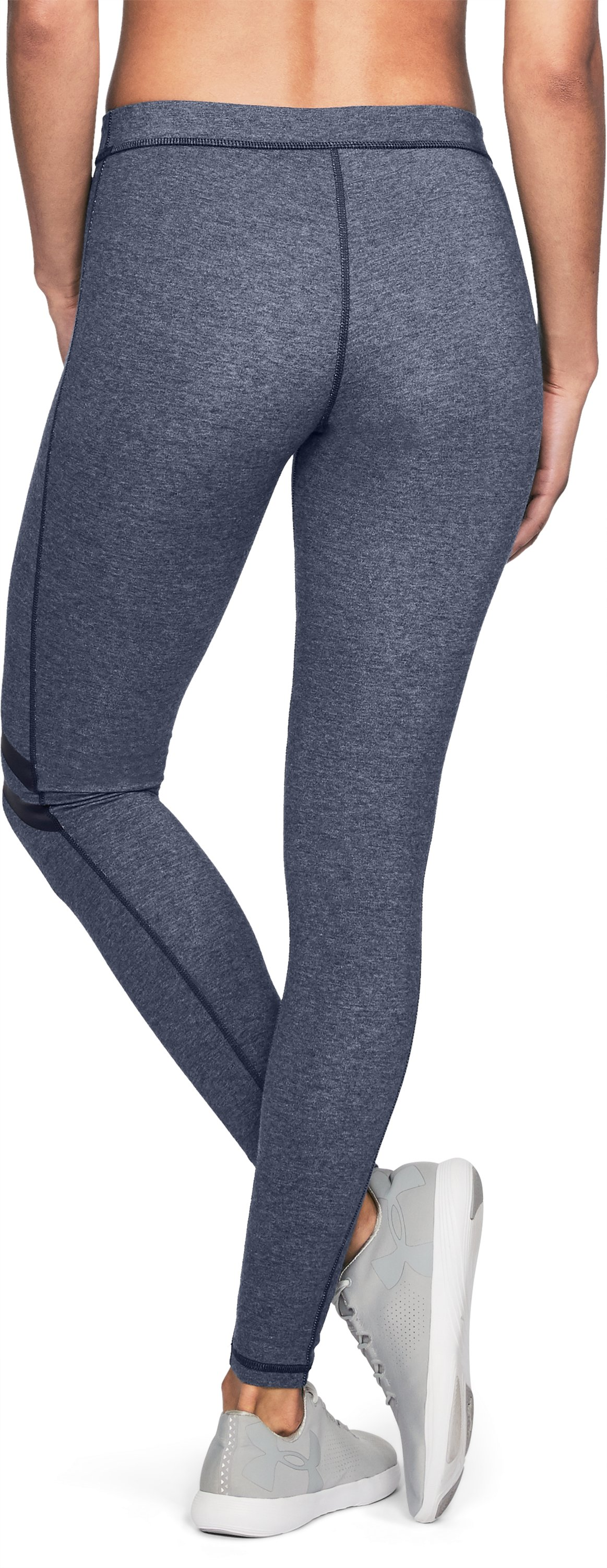 Women's UA Favorite Engineered Leggings, MIDNIGHT NAVY MEDIUM HEATHER, undefined