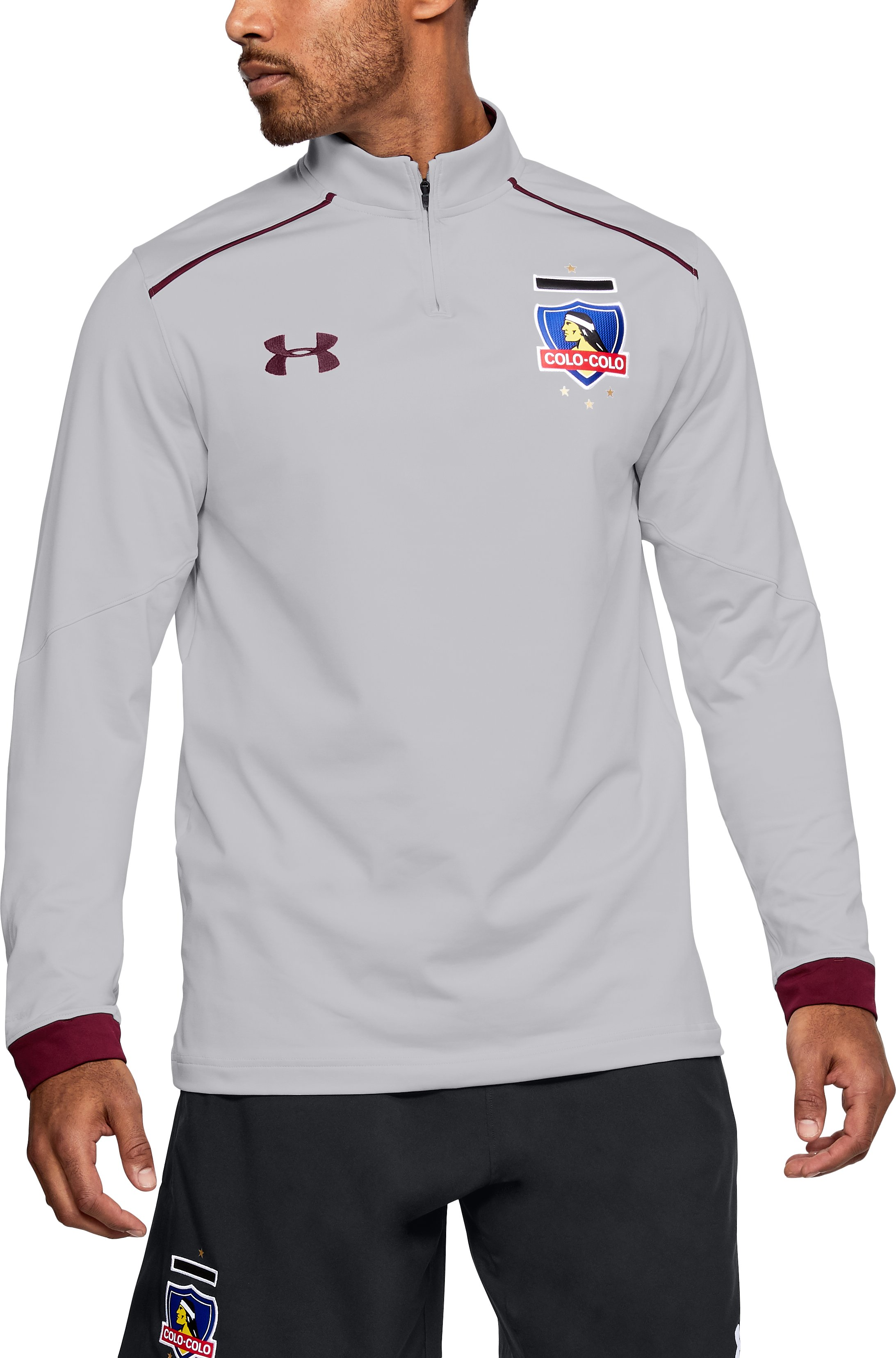 Men's Colo-Colo ¼ Zip Training Top 1 Color $51.00