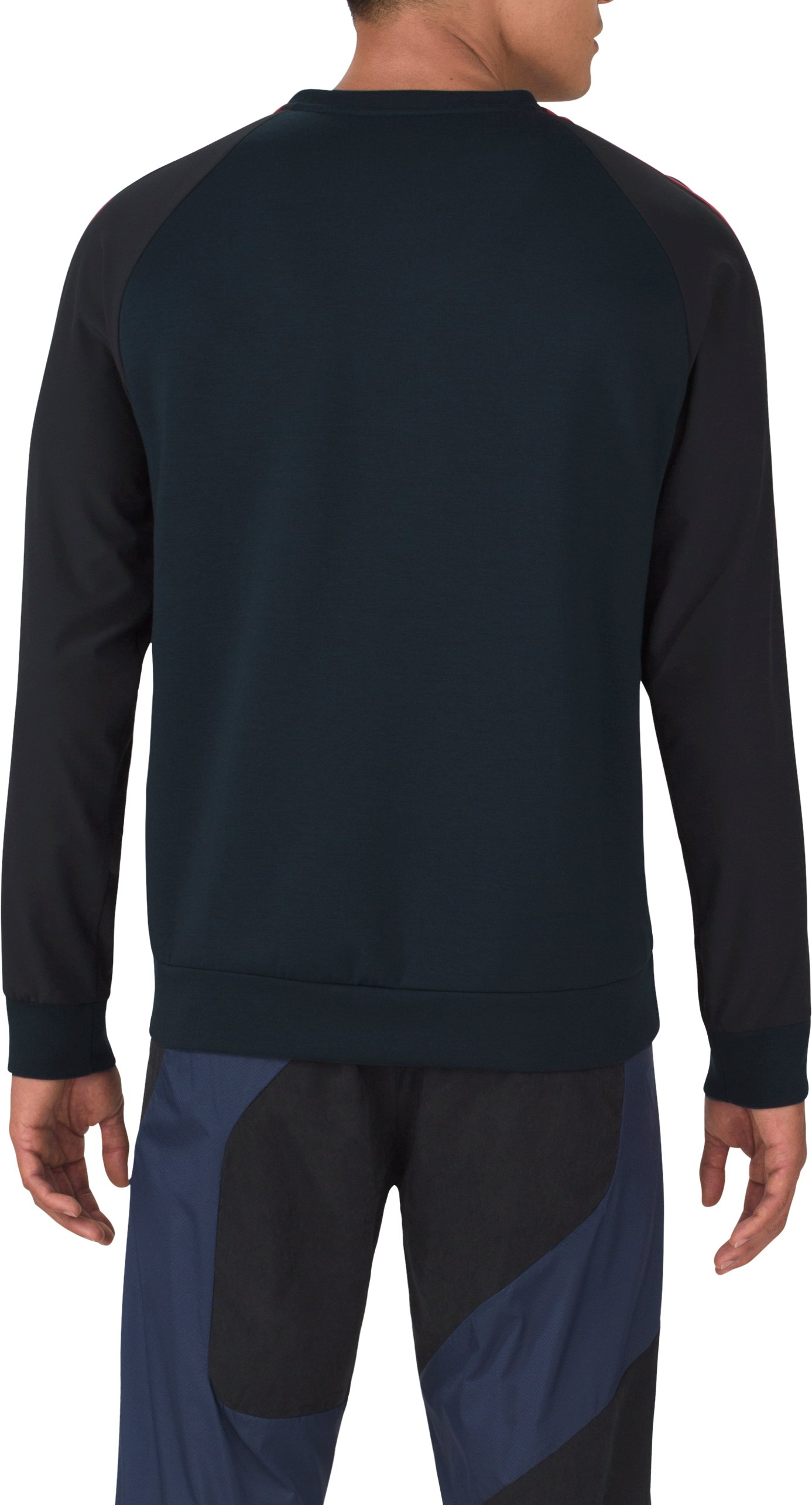 Men's UAS Tailgate Crew, Navy, undefined