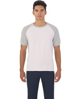 Men's UAS Textured Jersey Crew  3 Colors $90