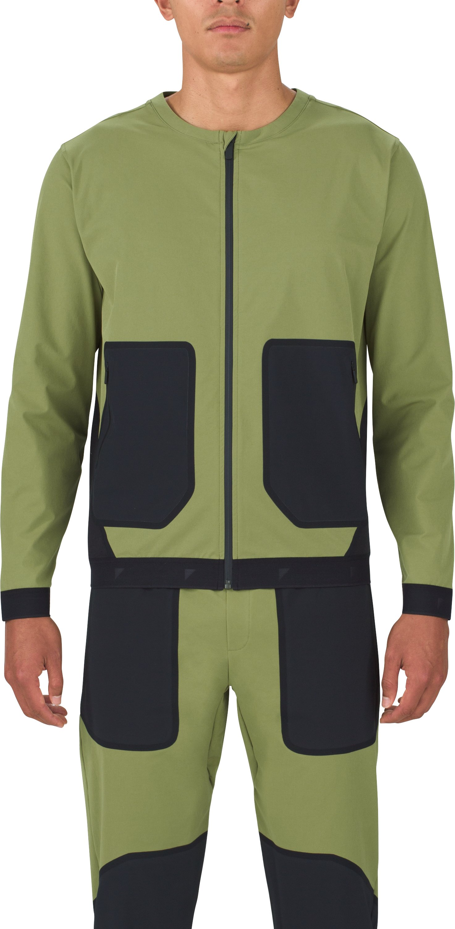 Men's UAS Pivot Stretch Crepe Bomber, MILITARY