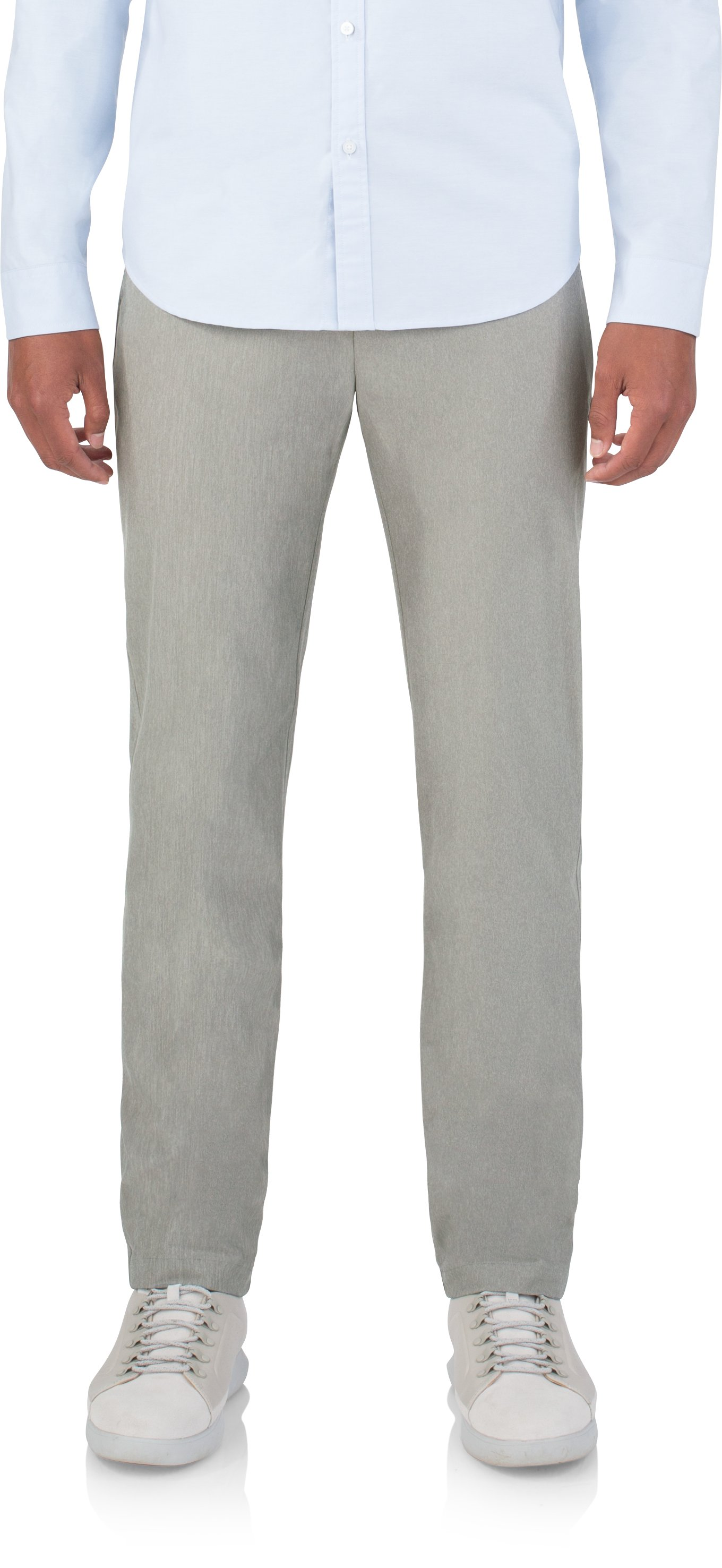 Chino - Knit Suiting, Medium Gray Heather, zoomed image