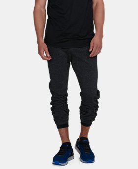 Men's UA Sportstyle Stacked Terry Joggers  1  Color Available $41.99