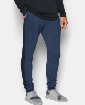 Men's UA Sportstyle Stacked Terry Joggers  3 Colors $69.99