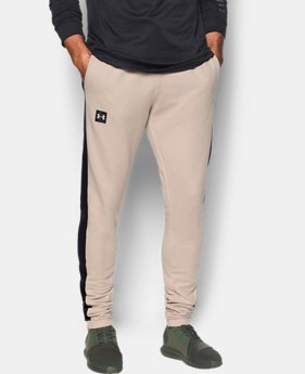Men's UA Sportstyle Stacked Terry Joggers  3 Colors $79.99