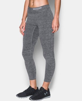 New Arrival Women's UA Threadborne™ Seamless Heathered Crop  1 Color $74.99