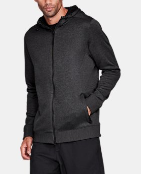 New Arrival Men's UA Sportstyle SweaterFleece Full Zip  2 Colors $99.99