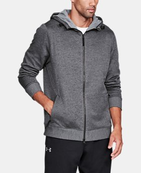New Arrival  Men's UA Sportstyle SweaterFleece Full Zip  1 Color $114.99