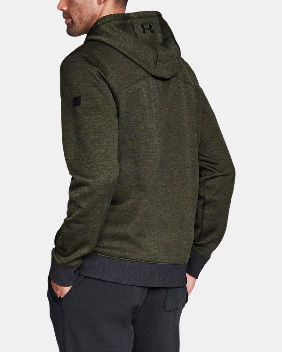 Sportstyle Sweater Flc FZ, Green, pdpMainDesktop image number 3