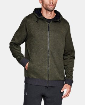 New Arrival Men's UA Sportstyle SweaterFleece Full Zip  1 Color $99.99